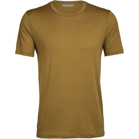 Icebreaker Tech Lite SS Crew Top Men curry
